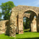 Photo des ruines de l'Abbaye Notre-Dame-du-Nid-au-Merle à Saint-Sulpice-la-Forêt.