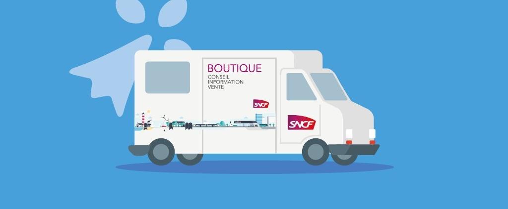 Image de la boutique mobile SNCF TER BREIZHGO.