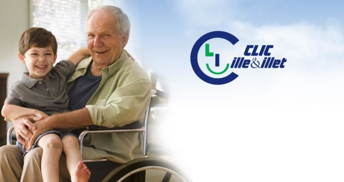 Logo du CLIC de l'Illet et de l'Illet.